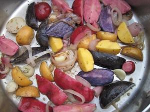 Farebné zemiaky